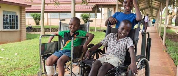 Help children who are disabled