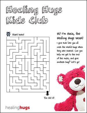Kids Activity Maze