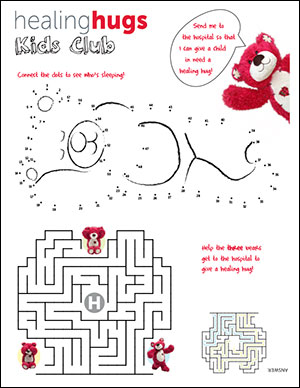 Kids Activity connect dots