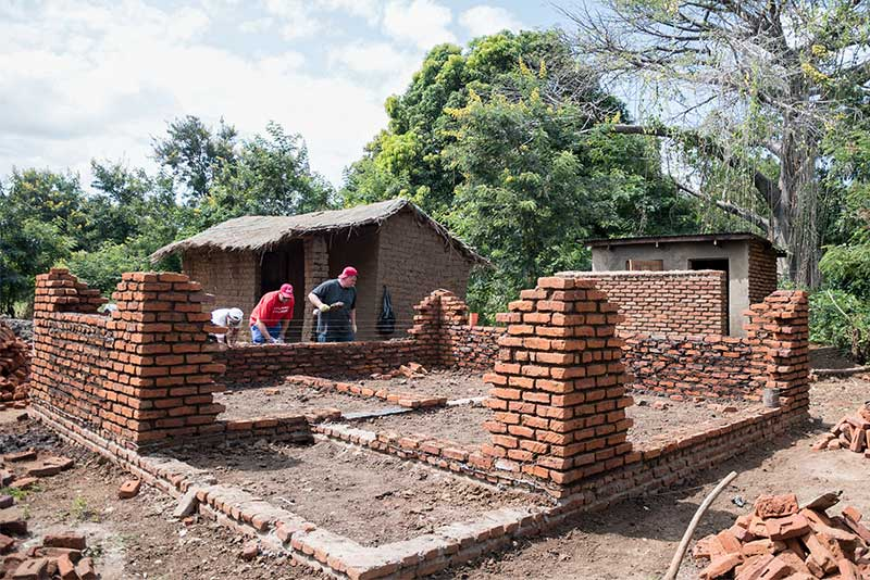 Building a foundation of hope