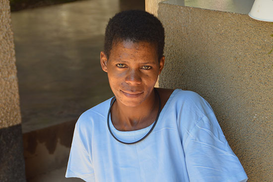 Editha living with fistula