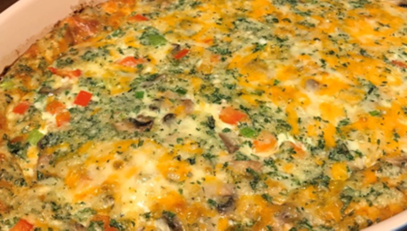 Egg Bake Breakfast Casserole